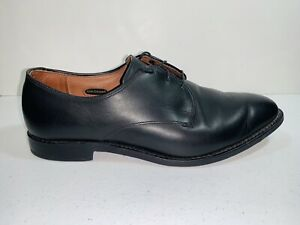 ALLEN EDMONDS Thomas Town Men's Black Dress Shoes Lace Up Size 10.5 E