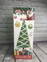 Vintage Model Power Musical 12 inch Christmas Tree Lights Up # 997 w/box