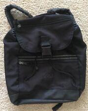 GEMLINE Black Canvas Golf Backpack Sports Bag 3 compartments Women