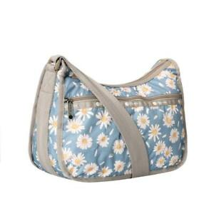LeSportsac Classic Collection Classic Hobo Crossbody Bag in Daisy Petals NWT