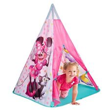 MINNIE MOUSE TEEPEE PLAY TENT - KIDS INDOOR / OUTDOOR PLAY OFFICIAL NEW