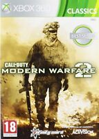 CALL OF DUTY MODERN WARFARE 2 NUEVO PRECINTADO PAL ESPAÑA XBOX 360