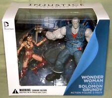 DC Collectables WONDER WOMAN VS. SOLOMON GRUNDY 2-Pack 3.75 Inch Figure Line