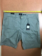 """Ben Sherman Stretch Fit Classic Fit Flat Front Shorts Size 38"""" Color Gray $70"""