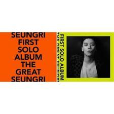 Bigbang Seungri-[The Great Seungri]1st Solo Album Random CD+Poster+Book+Card+etc