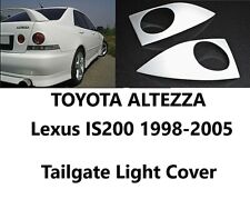Lexus IS300 Toyota Altezza 1998-2005 XE10 Tail Light Cover Rear Eyebrows 2pcs