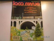 **d Loco Revue n°551 Voitures lits type F / Amélioration de la BB 12000 Jouef