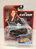 2020 HOT WHEELS Character Cars Marvel Comics Black Widow MIP 1/64 Diecast