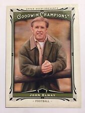 2013 Upper Deck Goodwin Champions Card - #117 John Elway Football