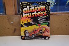 Alarm Busters Action Vehicles 1989 real siren lights search & rescue sealed (T3)