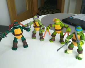 Teenage Mutant Ninja Turtles Film TMNT Set von 4 Action Figuren Spielzeug
