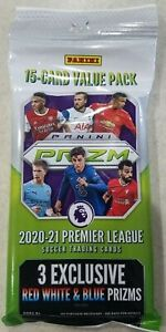 2020/21 Panini Prizm Premier League Soccer Jumbo Fat Pack