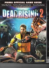 Dead Rising 2: Official Game Guide XBOX 360 PS3 & PC PB Prima Capcom 2010 w/ map