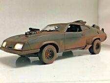 """Mad Max 2"" MUDDY 1973 FORD FALCON XB POLICE INTERCEPTORS 1/18 Working Lights GL"