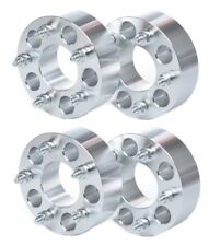 """4X 8x170 to 8x170 2"""" 50mm Thick Wheel Spacers Adapters 14x1.5 Ford Super Duty"""