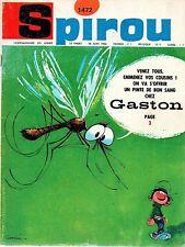 ▬► Spirou Hebdo - n°1472 du 30 Juin 1966 - SANS mini-récit - TBE