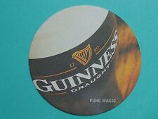 Beer Coaster ~*~ Guinness Stout <> Pure Magic Expectation ~*~ Dublin, Ireland
