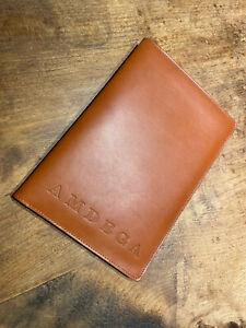 Amdega Papyrus Leather Portfolio and Notepad Notebook