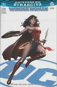 italian edition DC UNIVERSE REBIRTH WONDER WOMAN  # 1 ultravariant   Lion