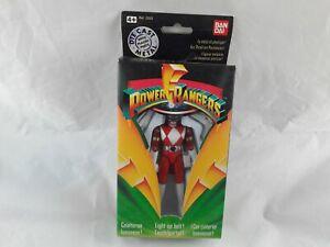 Bandai Power Rangers Red Ranger Die Cast Light-up Belt Figure