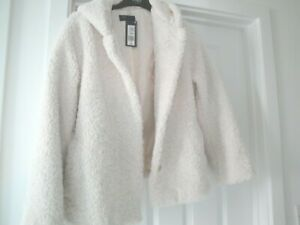 COAT JACKET M&S BNWT SIZE 20 WINTER WHITE LADIES HOODED IDEAL GIFT