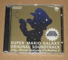 Super Mario Galaxy Club Nintendo Soundtrack CD 1 Disc Japan OST Sealed Japanese