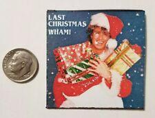 Miniature record  Barbie Gi Joe 1/6  Playscale  George Michael Christmas Wham