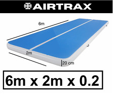 6m X 2m X 20m Inflatable Air Track Gymnastics / Tumbling Mat - ProQuality