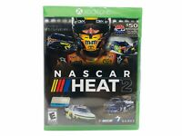 Nascar Heat 2 (2017) Xbox One Racing Rated E Everyone New Sealed Multiplayer