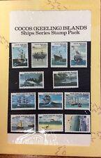 1976 Cocos Islands ships presentation pack MUH