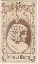 Victorian Ladies' Boot & Shoe Blacking Trade Card - Thorpe Bristol Connecticut