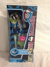 Monster High Frankie Stein Swim Class Doll Justice Exclusive New in Box
