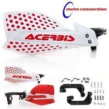 ACERBIS X-ULTIMATE WHITE / RED HANDGUARDS HONDA CR125 CR125 CRF250 CFR450