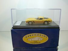 TECNOMODEL #10 ISO GRIFO GL 365 1967 - YELLOW 1:43 - MINT CONDITION IN BOX