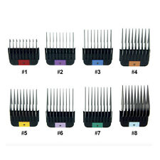 WAHL Pet 1-8 Stainless Metal Combs/Guides for KMSS/KM2/KM5/KM10 Clippers