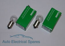 Lucas LLB989 CAR / CLASSIC MCC Ba9s 12v 5W interior light bulb x 2