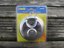 Disc Padlock - Stainless Steel 90mm