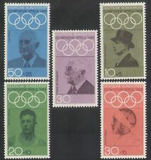 Germany 1968 Olympic Games/Olympics/Sports/People/Coubertin 5v set (n35405)