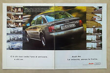 E537 - Advertising Pubblicità - 1997 - AUDI A4 LA VELOCITA SENZA FRETTA