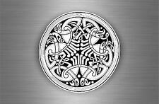 Sticker adesiva adesivi tuning auto celtico trinity triquetra croce knot rA9
