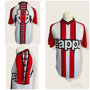 Kappa Vintage T Shirt Medium Italy Red White Black Bold 90s Retro