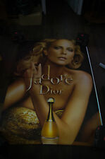 DIOR J'ADORE CHARLIZE THERON B 4x6 ft Bus Shelter Original Fashion Poster