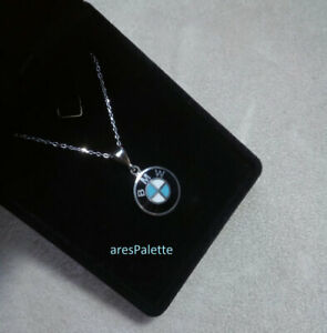 BMW necklace-925 Silver Handmade - Car jewelry - BMW Pendant