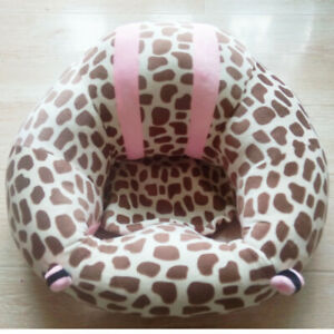 Baby Learning Seat Plush Toy Safety Dining Chair Baby Learning Seat Child Sofa
