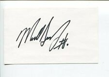 Mike Singletary Baylor Chicago Bears Super Bowl Champ HOF Signed Autograph