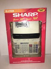 Sharp EL2192R Printing Calculator
