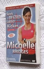 Seek and Destroy Cardio Kicker: Michelle Bridges (DVD) Like new, free shipping