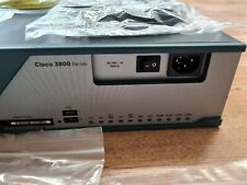 More details for cisco 3800 series integrated router 3825 including many cables, bracket, etc