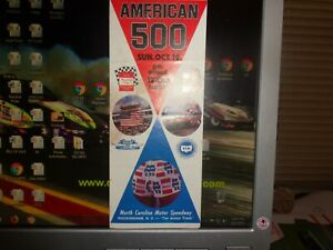 1975 NASCAR Rockingham American 500 Ticket Brochure