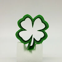 "Shamrock Cookie Cutter, 2""/3""/4""/5"" Size, 1"" Deep"